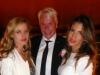 Thomas Kramer, Georgia May Jagger and Claudia Galanti