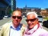Thomas Kramer visiting Hamburg's HafenCity Project